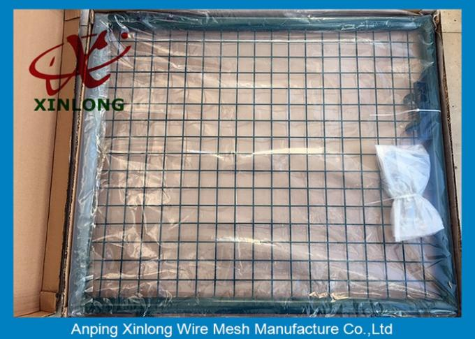 Professional Wire Mesh Gate , Durable Chain Link Fence Gate Easy Install