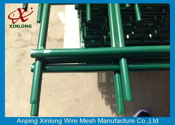 Strongly Double Loop Wire Fence , Twin Wire Mesh Fencing Easy Installation