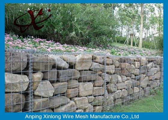 Trung Quốc Construction Gabion Basket Wall Gabion Rock Wall Cages With ISO90000 / 2008 Certificate nhà cung cấp