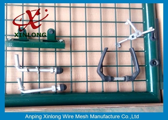 Trung Quốc Professional Wire Mesh Gate , Durable Chain Link Fence Gate Easy Install nhà cung cấp
