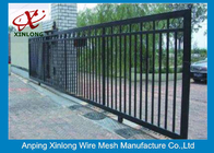 Trung Quốc Eco Friendly Motorised Sliding Gate , Electric Entrance Gates Convenient Install nhà máy sản xuất
