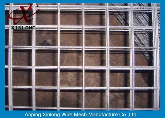 Easily Assembled Galvanized Welded Wire Mesh Fence For Concrete Plain Weave Style